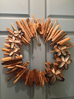 Driftwood and Seashell Wreath