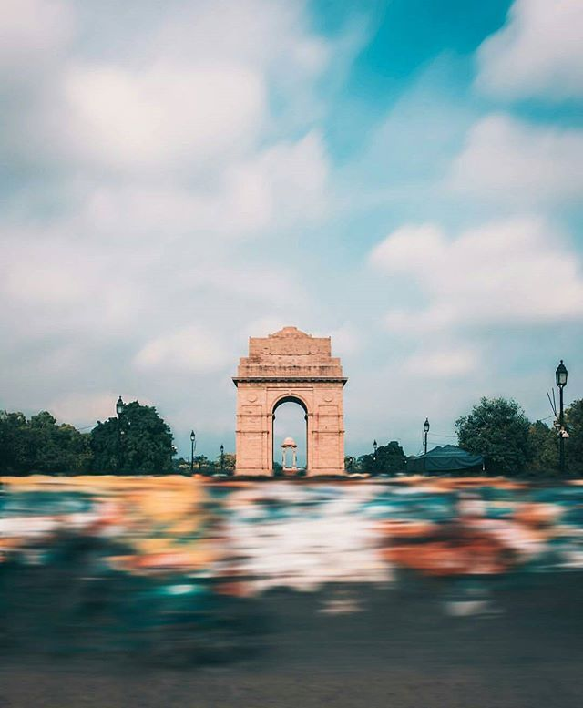 @trell.community 's top picks of the day. . . India Gate, Delhi . . Featured Artist: @fazil.insta  Use #trell and tag us to get featured