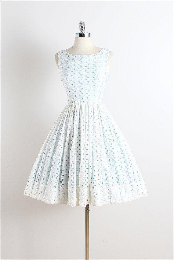 72e8a8c7632 Vintage 1950s Black Tuxedo Party Dress 50s Style A Line Dress ...