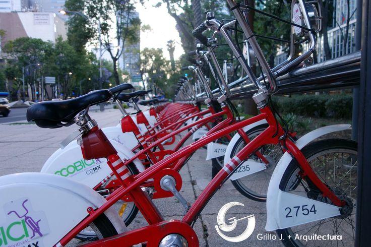 Bicicletas públicas, Ciudad de México