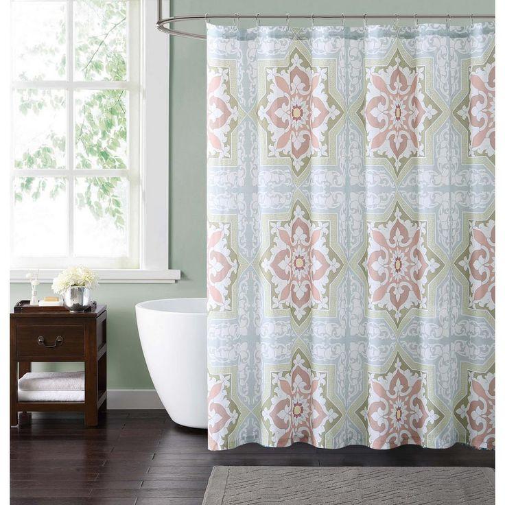 Style 212 Sheffield Green 72 In Multiple Shower Curtain Sc1898gr 6200 Green Shower Curtains Unique Curtains Curtains