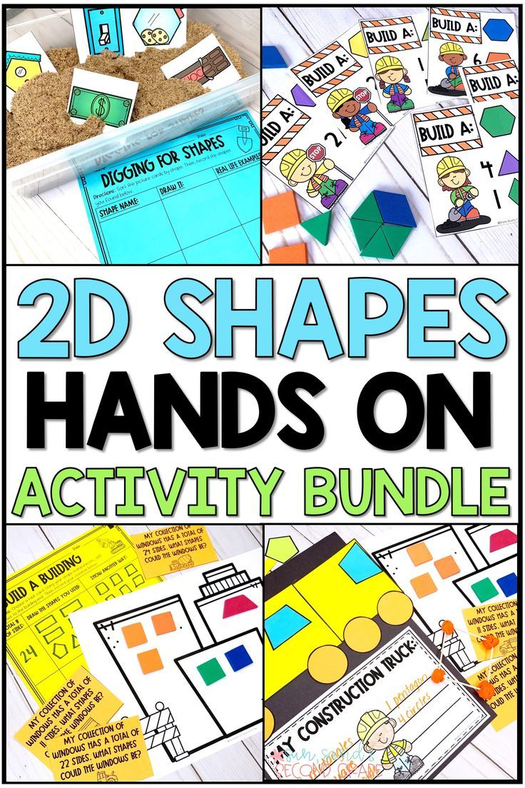 2d Shapes Hands On Activities Hands On Activities Fun Math