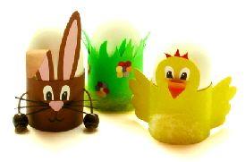 Lustige Eierbecher zu Ostern