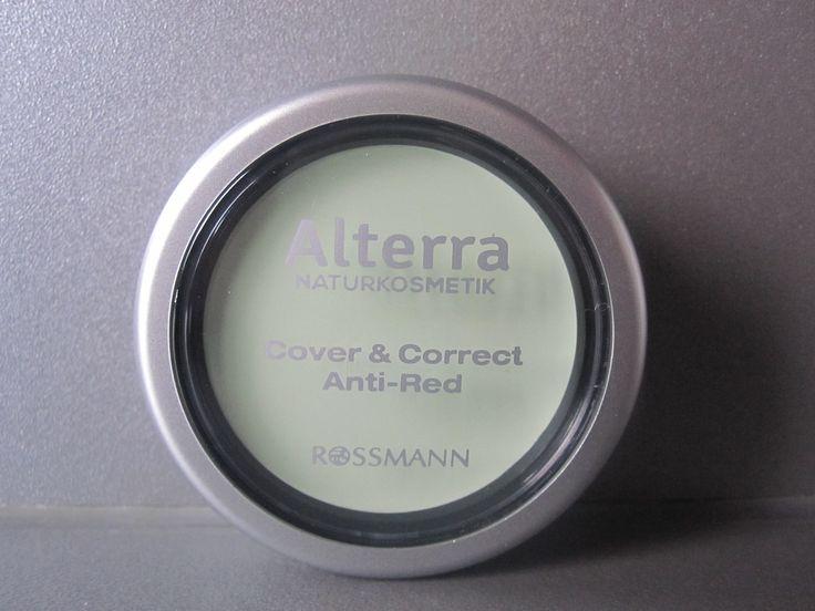 #sfmbox Januar :  Alterra, Cover & Correct Anti - Red