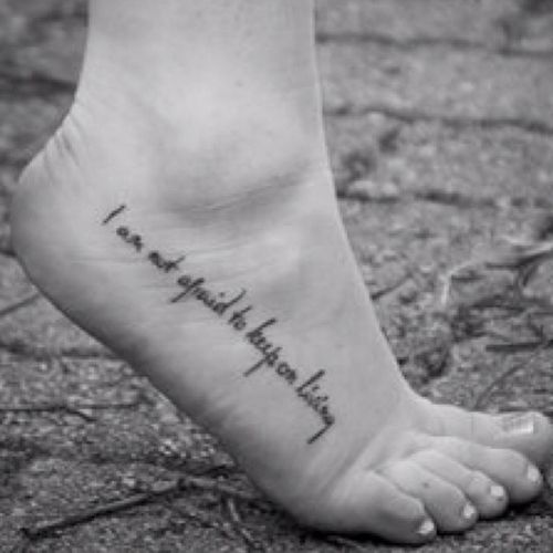 Tattoos, Foot Tattoos