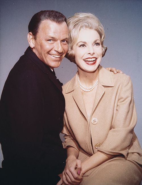 """Frank Sinatra & Janet Leigh for """"The Manchurian Candidate"""", 1962"""