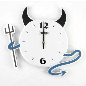 Reloj de pared Diablo   Relojes de pared