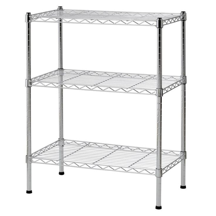 121 best Chrome Wire Shelving images on Pinterest | Kitchens, Open ...