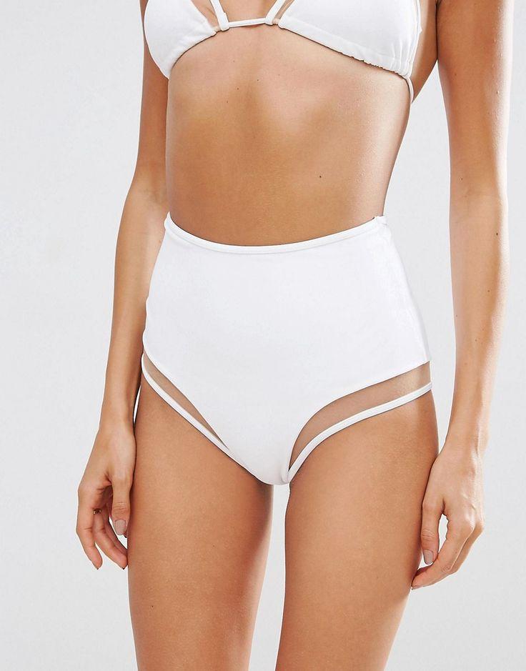 Bikini de talle alto Bikinis, baadores y braguitas ASOS