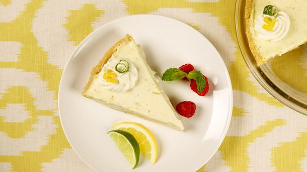 Lemon Lime Refrigerator Cheesecake