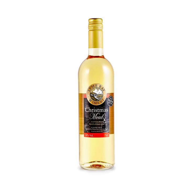 Christmas Mead - A traditional, rich, smooth honey Mead blended with festive spices. Awarded Gold at 'The Taste of The West Awards 2010'.