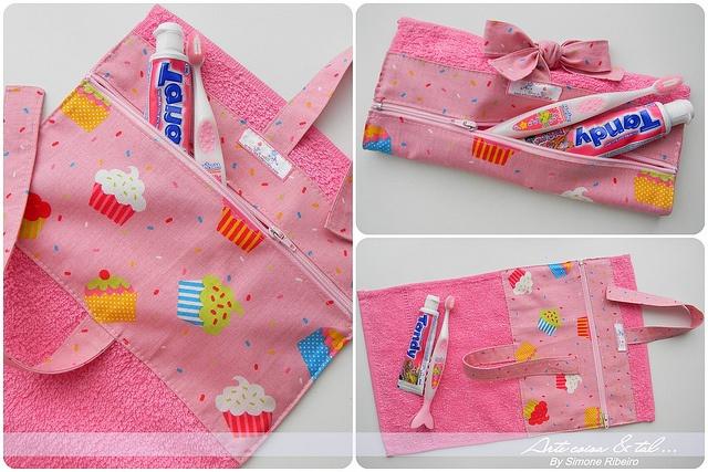 Toalhinha com kit de higiene