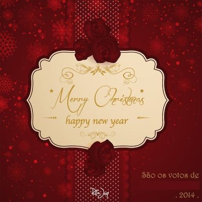 Christmas E-mail Card for my Family, Friends & Colleagues (free online vectors-sources: Freepik, Vectors Daily, etc)