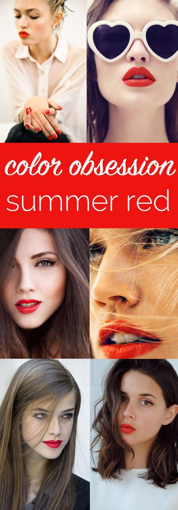 best summer red lipsticks via @mystylevita