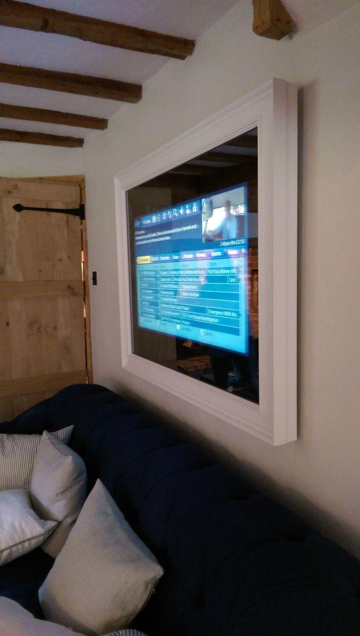 Mirror TV Installation by Kent Home Cinema Centre #homecinemaintallation