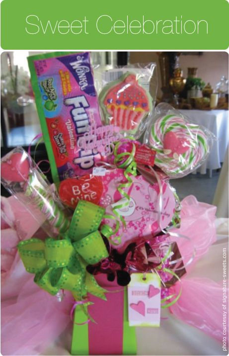 Valentine's-Day-Candy Bouquet-