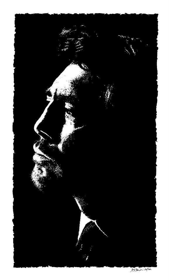 """""""Javier Bardem, Mare dentro"""" 10/2014 - 32x41 cm  Inchiostro di china su carta ruvida 200 gr. #art #portrait"""
