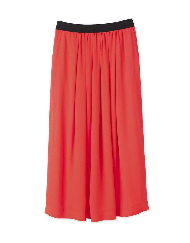 Flip Midi Skirt from Trenery