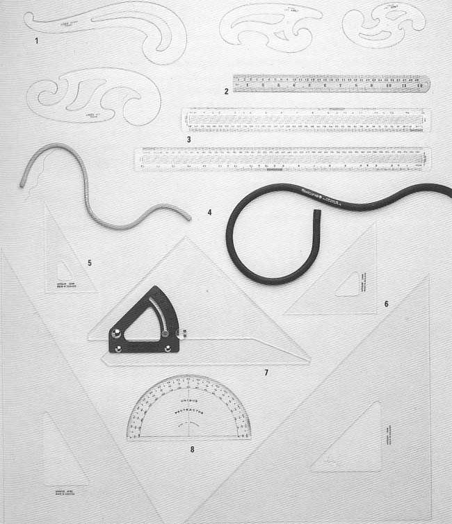Cuales son las herramientas de dibujo tecnico