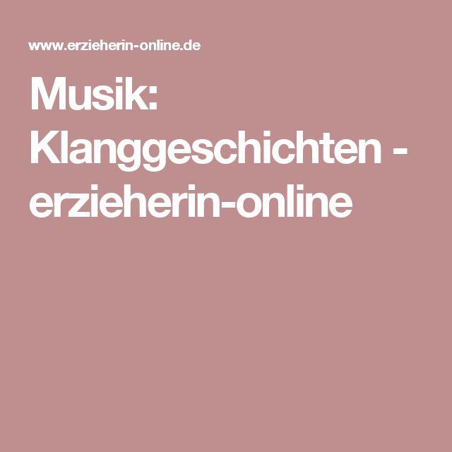 Musik: Klanggeschichten - erzieherin-online