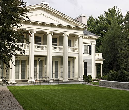 64 best Greek revival images on Pinterest Brick homes Brick