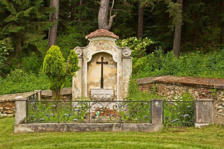 Dollersheim, Áustria. A área municipal corresponde ao local de nascimento de Alois Hitler, pai de Adolf Hitler, em 1837.