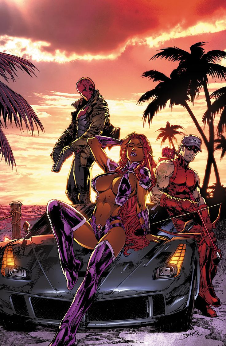 Red Hood and the Outlaws #32 - Ed Benes
