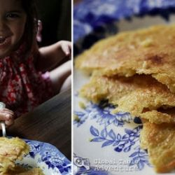 Recipe: Chickpea Crepes (Socca) | Garbanzo Bean Flour Recipes | Pinte ...