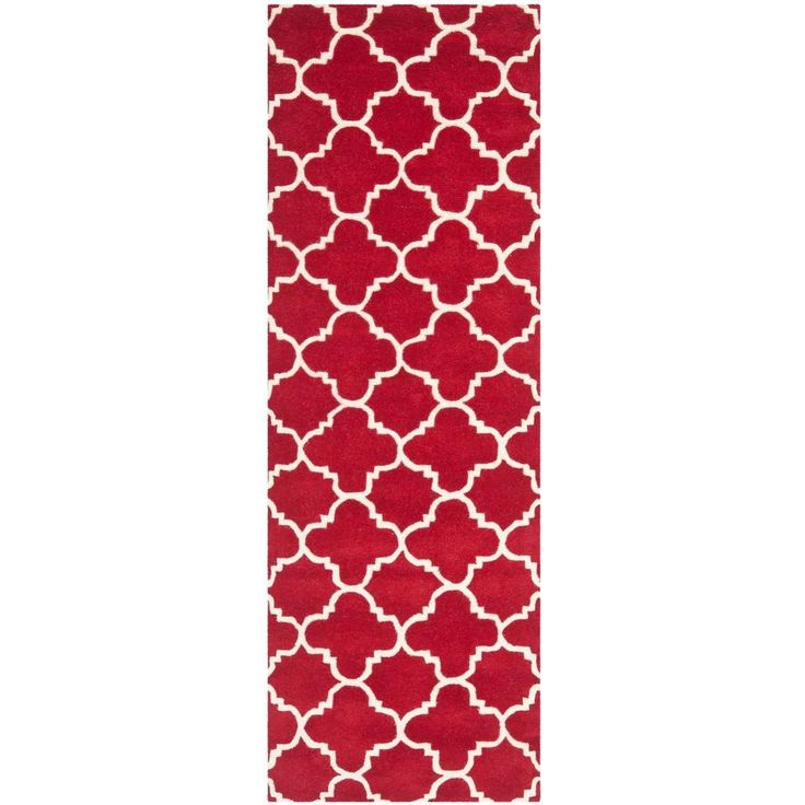 Chatham Red/Ivory 2 ft. 3 in. x 11 ft. Runner