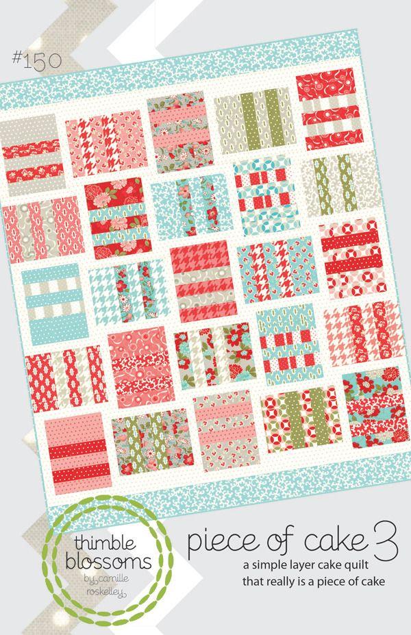 Piece of Cake 3- Pattern 150 PDF pattern