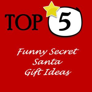 Funny Secret Santa Gift Ideas. Affordable Secret Santa gifts that the recipients are going to love