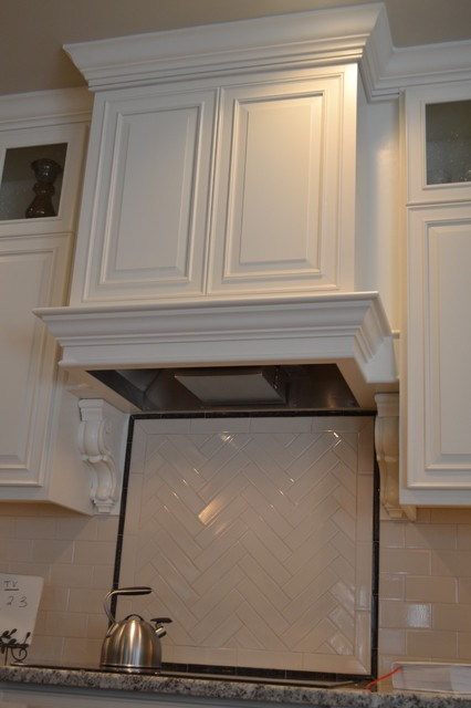 Range Hood Keeping With The Square Style Panels