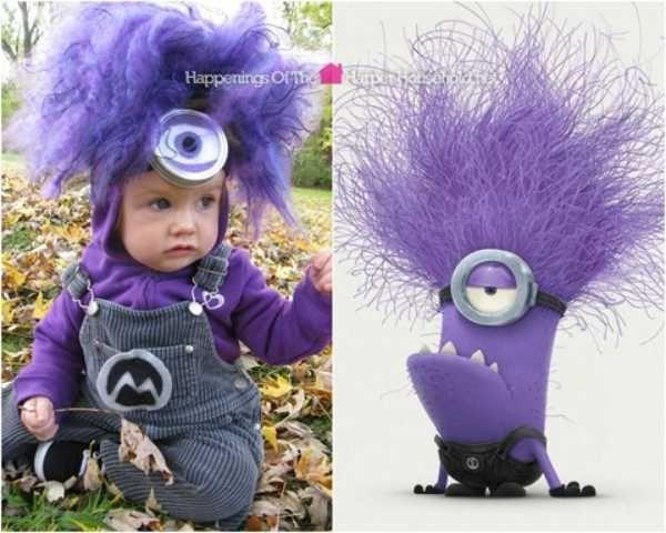 Disfraces para niños: MInion malvado