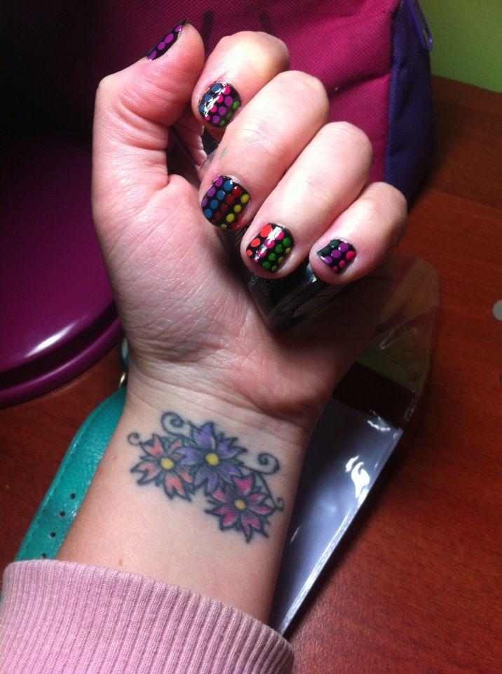 Uñas coloridas! :)