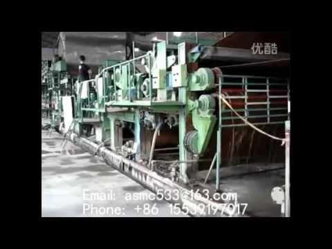 kraft paper machine, testliner paper machine 2400