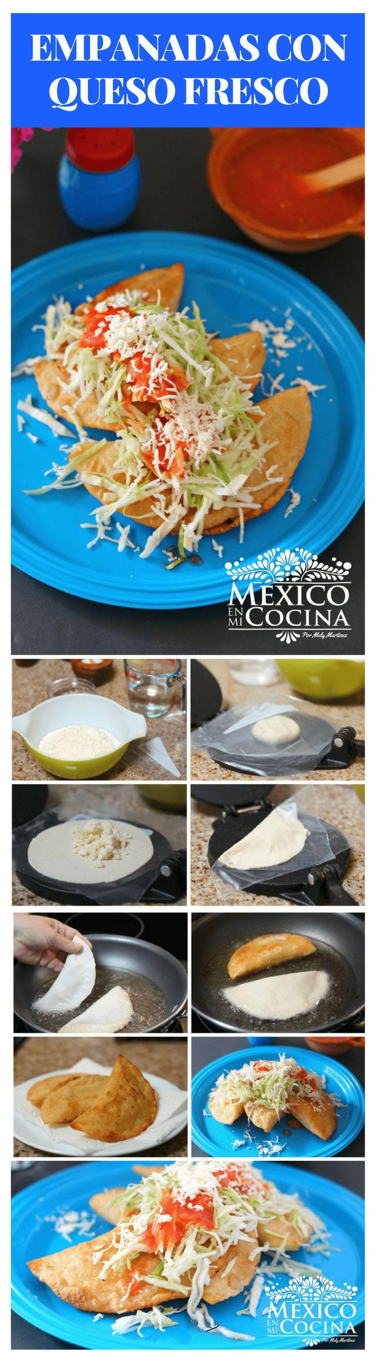 Estas empanadas de maíz con queso son algunas de las sencillas, pero son muy deliciosas. Son una de las empanadas de maíz favoritas de mi familia, debido al sabor único que obtienes cuando las mezclas el azúcar en el queso. #comidamexicana #saboresmexicanos #recetasdecomida