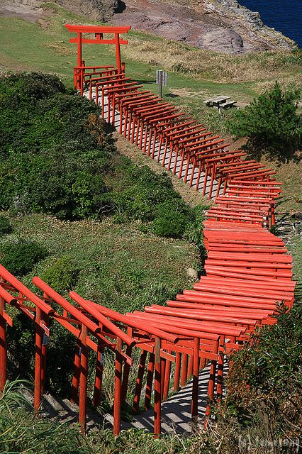 Motonosumi Inari Shrine - Yuya Tsuou, Nagato-city, Yamaguchi prefecture, Japan
