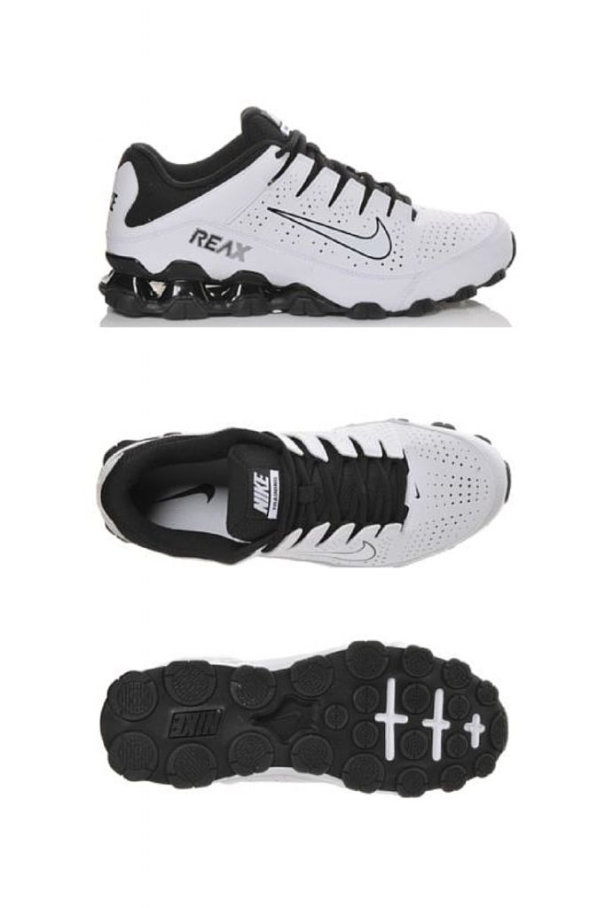 Train harder during your workouts and look stylish on your off days in  these Nike Reax 8 sneakers.