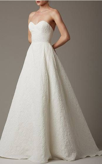 MY PERSONAL FAVORITE Lela Rose Bridal Spring Summer 2016 Look 1 on Moda Operandi