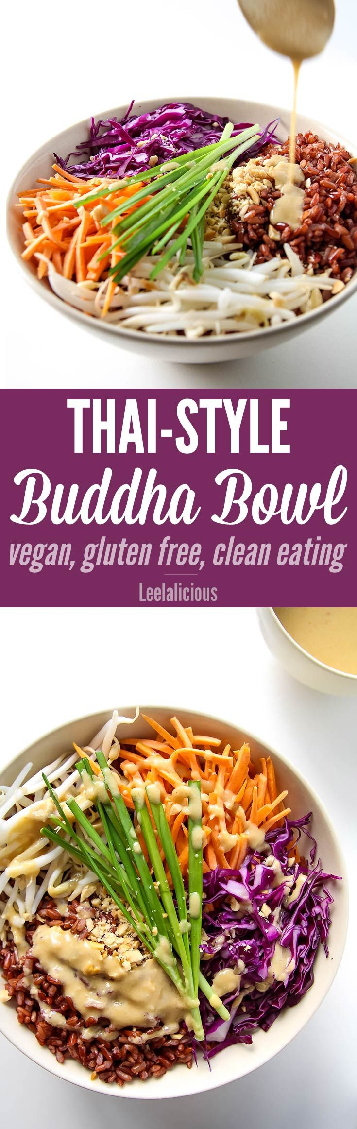 Style Tips and Ideas: Thai Style Buddha Bowl with Peanut Sauce – LeelaLi...