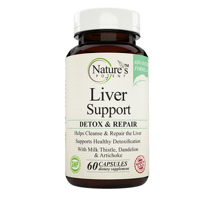 Nature's Potent™- Liver Support & Cleanse, Advanced Detox Formula