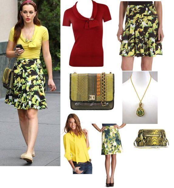 Gossip Girl Blair Fashion Pinterest
