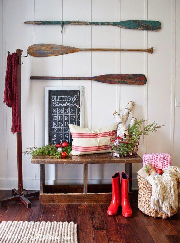 Рождественские туры по домам блоггеров. Идеи украшения дома к новому году