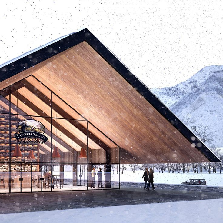 piuarch to build co-op dairy influenced by alpine huts in italy
