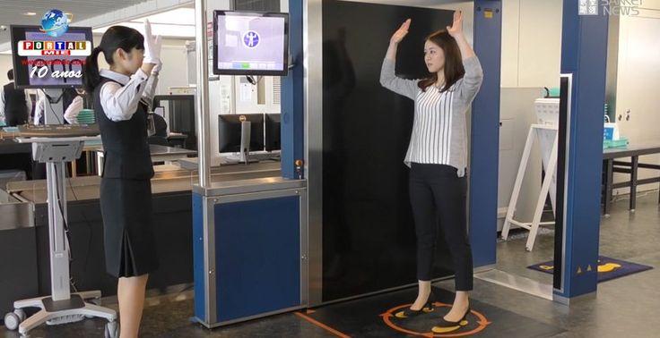 O scanner de corpo inteiro foi implementado nos Aeroportos de Haneda e Narita e será utilizado nos check-in de voos internacionais. Saiba mais.