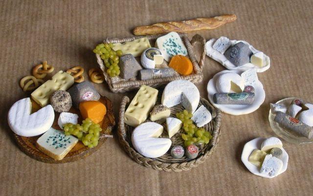 Miniatures et maisons de poupees : la nourriture