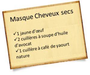 Cheveux secs : Fabriquez votre masque cheveux secs maison 100% naturel