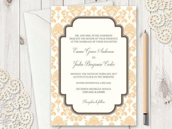 18 best Wedding Invitation Templates \