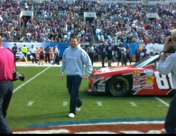 Dale Earnhardt Jr 24/7: Dale Jr - Gator Bowl Appearance January 1, 2013