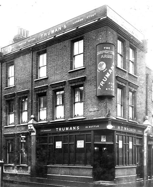 Carpenters Arms, 73 Cheshire Street, Bethnal Green E2